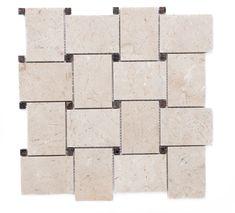 Love our gorgeous marble! Marble Mosaic, Marble Floor, Basket Weaving, Mosaics, Flooring, Luxury, Mosaic, Hardwood Floor, Floor