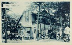 Songdowon Beach Club, Wonsan, c1930s  일제강점기 사진엽서 – 원산 송도원해수욕장구락부