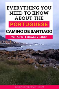 If you're preparing to walk the Camino de Santiago trail, you need this guide to make the most of your Camino walk. The Camino Portuguese Coastal route and the Camino Portuguese Central route are two incredible options for Spain travel! Camino Walk, Camino Trail, The Camino, Top Travel Destinations, Europe Travel Tips, Best Places To Travel, Spain Travel, El Camino Pilgrimage, Camino Routes