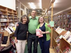 Reaading at The Country Bookshelf:  Montana bookstores are the comfort food of the book world.