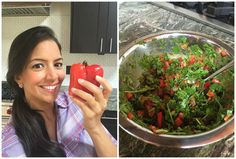 My Go-To Salad After Heavy Eating & Big Meals! - Lentil Detox Salad - serve warm or cold :)