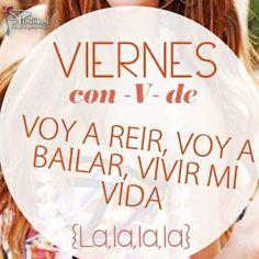 """Y hoy es viernes con V de """"voy a reír, voy a bailar"""", ¡#FelizViernes en #ElPlatanal!"""
