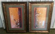 This set is in excellent condition. Art Prints, Vintage Paper, Framed Art, Colorful Art, Blossom, Painting, Types Of Art, Art, Framed Art Prints