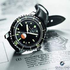 aadc513df22 The brand s original combat diver. Paying tribute to the Fifty Fathoms  Mil-Spec 1 watch