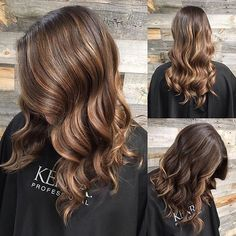 Bronze Beauty ✨ by She painted the hair with Blonding Creme & 40 Vol Developer and painted a couple pieces on the top with Blue Powder Lightener & 20 Vol. Then she glazed with Demi & 9 Vol Activator! Kenra Color, Hair Color Formulas, Bronze Hair, Hair Inspo, Skin Care, Long Hair Styles, Brunettes, Couples, Haircolor