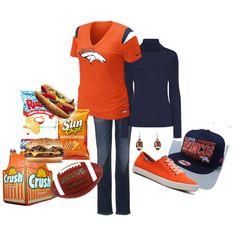 Outfit -- Denver Broncos