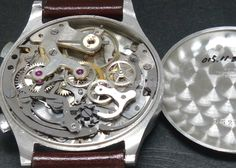 40's ELECTION Calatrava Chronograph Breguet index