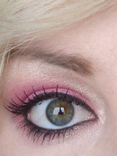 checkout these guides on makeup! Makeup Tips, Beauty Makeup, Hair Makeup, Hair Beauty, Gold Makeup, Pink Makeup, Pink Wedding Makeup, Hot Pink Weddings, Eyes Lips Face