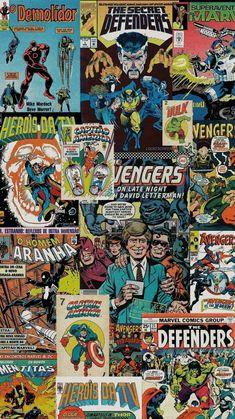 Avengers hq - Lockscreen marvel only - Colorful Wallpaper Retro Wallpaper, Aesthetic Pastel Wallpaper, Tumblr Wallpaper, Aesthetic Wallpapers, Wallpaper Backgrounds, Dark Wallpaper, Marvel Art, Marvel Comics, Marvel Heroes