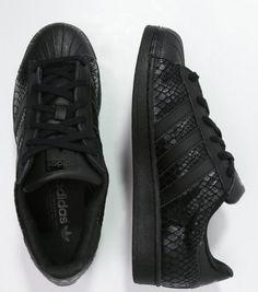 adidas Originals SUPERSTAR Tenisówki i Trampki core black