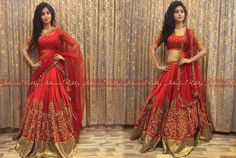 Absolute georgeous Shamili Sounderajan in a  crimsonred  ashwinireddy ensemble..  arbride  candyred  indianwedding  bridal  indianfashion  05 December 2016