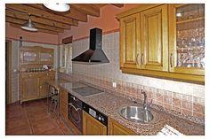 Cocina, Casa Rural Rioloseros, en Villacorta, León.