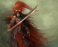 Samurai Female Warrior - Fantasy - wallpapers