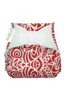 ff411090cdd4e8 bumGenius 4.0 One-Size Cloth Diaper-Artist Series (Concrete Jungle (Red  Print))