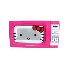 #4: Hello Kitty 0.7 Cubic Feet 700 Watt Microwave - MW-07009