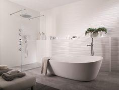Salle de bain ilot + douche à l'italienne Porcelanosa