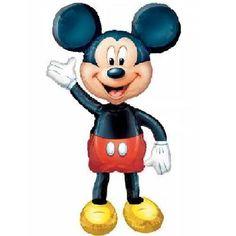 "MICKEY MOUSE-BALLOON-MYLAR-AIRWALKER, 52"" X 38""-1 PC-PKGD-ANAGRAM-SALE #Themed"