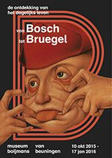 From Bosch to Bruegel - Uncovering Everyday Life from October 10 2015 until January 17 2016 Museum Boijmans Beuningen, Rotterdam. This exhibition uncovers everyday life in the sixteenth century: a world of brothels, skating parties, dancing peasant and quacks. 16th century society is depicted with irony and self-mockery in approximately forty paintings and as many prints. Some works contain a moral, but most are simply humorous. Nothing escaped the attention of these great artists. This is…