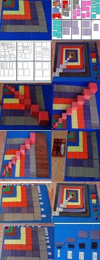 Montessori DIY - Math concepts