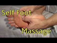 Self Foot Massage - Do While Watching! - YouTube