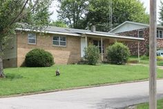 Brick front home in town! Home offers entry living, Eat in kitchen w/new updates. Large storage/pantry room off kitchen. Full hall bath, 3 bedroom, master has half bath. Home has had many updates! Home has new paint, new carpet, new counter tops and more! in Cabool MO