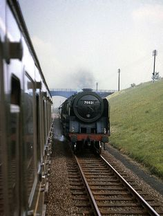 Britannia 70021 Morning Star nr.Brackley, GC line. Jun'64.… | Flickr
