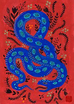 Snake (25.00 USD) by MirDinara