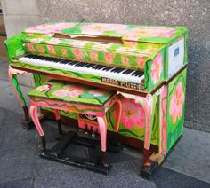 painted piano bar - Google Search