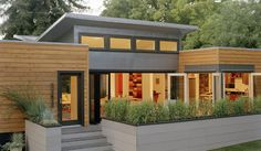 skillion roof house designs - Google Search