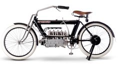 """Pierce made America's first four-cylinder motorcycle, manufactured by the upmarket Pierce-Arrow Motor Car Company in Buffalo, New York. According to its makers, the Pierce would be """"vibrationless, give motor car comfort and travel comfortably from a mere walking pace up to the speed of the motor car."""" It was not just its multi-cylinder engine that made the Pierce unusual; the frame too was novel, being constructed from 3½-inch diameter steel tubes that housed fuel and oil, and, like the FN…"""
