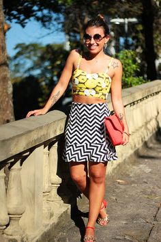 Small Fashion Diary: look de domingo: frutas e grafismos