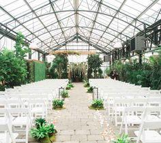 Greenhouse wedding ceremony - The Wedding Story of Sean and Melissa | WeddingDay Magazine