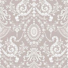 1000 id es sur le th me papier peint au damas sur pinterest papier peint te - Tapisserie rose et gris ...