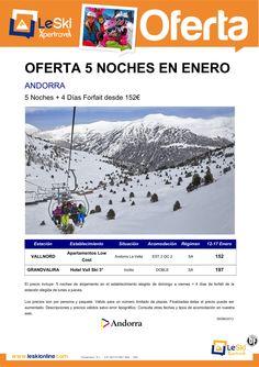 Oferta Andorra 5 Noches + 4 dias de Forfait Enero desde 152 € ultimo minuto - http://zocotours.com/oferta-andorra-5-noches-4-dias-de-forfait-enero-desde-152-e-ultimo-minuto/