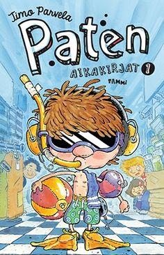 Suosituista Ella-kirjoista tuttu Pate saa nyt ikioman kirjasarjansa, jossa on Pasi Pitkäsen vauhdikas kuvitus ja helppolukuinen ulkoasu.