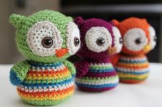 We love Owls and if you do too, you will love to make these cuties.  Get the pattern now.