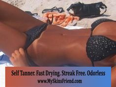 Organic Self Tanner. The best self tanning lotion in the market. Chemical FREE. Fast drying. Streak Free. Won't clog pores. www.MySkinsFriend.com