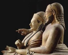 Etruscan, Sarcophagus of a Married Couple, from the Banditaccia necropolis…