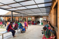 Reusable plastic formwork was used so the team could build the hospital campus quickly employing untrained workers from Achham. Nepal, Sharon Davis, Forest Habitat, Al Jazeera, Rammed Earth, Google News, Ted Talks, New York Times, Climate Change