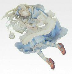 Alice Liddell - Heart no Kuni no Alice - Image - Zerochan Anime Image Board Manga Anime, Moe Anime, Kawaii Anime, Anime Guys, Anime Art, Alice Liddell, Alice In Wonderland 1, Adventures In Wonderland, Alice Anime