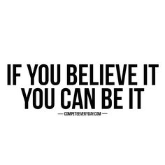 You can and you WILL.