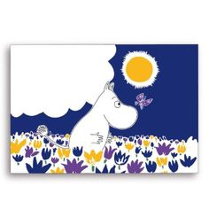 Opto Moomin Butterfly Placemat 40x30cm
