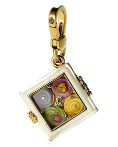 Juicy Couture Box of Cupcakes Charm