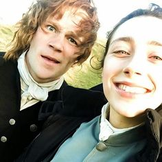 Sam and cait stunt doubles for s3