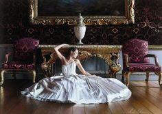 Unbelievably Photorealistic Paintings of an Elegant Bride by Rob Hefferan.