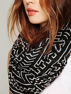 Printed Motif Scarf - Free People