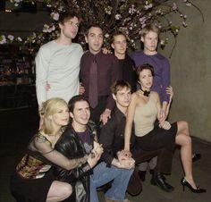 """The Cast Of """"Queer As Folk"""" Then And Now Прошло 14 лет. Актерский состав """"Близкие друзья"""", тогда и сейчас."""