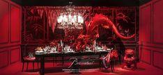 """Baccarat for Printemps"" window displays at Printemps Haussmann in Paris, Photos crédit : Francis Peyrat Fashion Window Display, Window Display Design, Store Window Displays, Booth Design, Shop Interior Design, Retail Design, Store Design, Design Shop, Design Art"