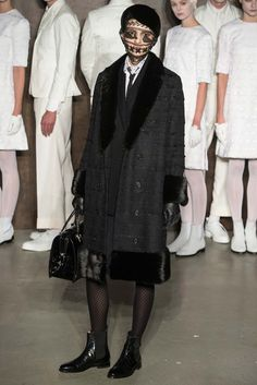 20eac1b5029 The complete Thom Browne Fall 2015 Ready-to-Wear fashion show now on Vogue  Runway.