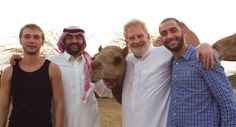 """A visit with """"Leila"""" outside Jeddah."""